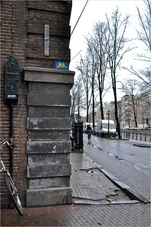 Стрит-арт и граффити Амстердама, Нидерланды. Изображение № 2.