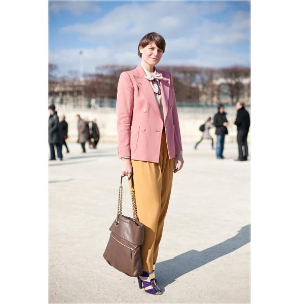 Луки с Недели моды в Париже. Изображение № 21.