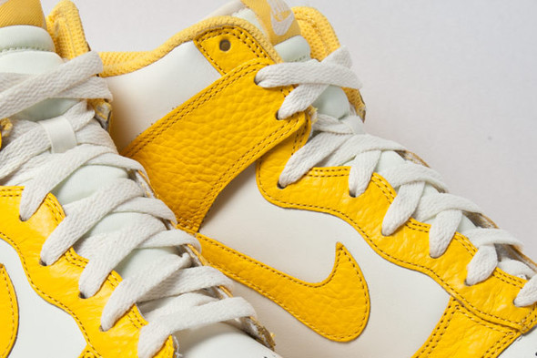 NIKE DUNK HIGH (VARSITY MAIZE). Изображение № 2.