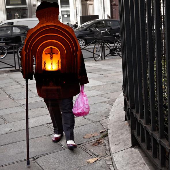 Фотографические эксперименты на улицах Парижа Начо Ормачеа. Изображение № 9.