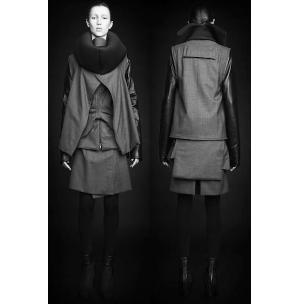 Изображение 36. Лукбуки: Bergdorf Goodman, Jaeger Black и Rad Hourani.. Изображение № 36.