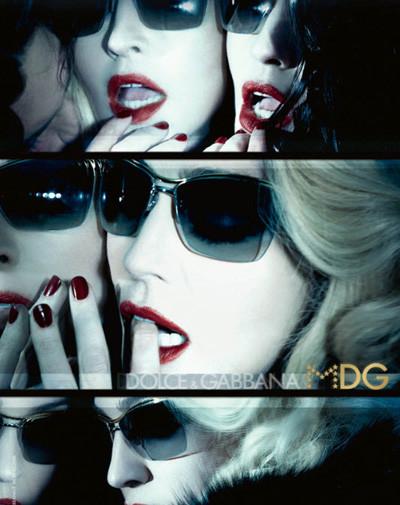 Линия солнцезащитных очков от Мадонны и D&G. Изображение № 1.
