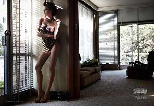 Съемка: Миранда Керр для Harper's Bazaar Австралия. Изображение № 7.