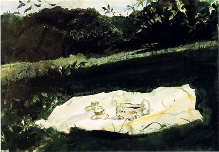 Andrew Wyeth- живопись длясозерцания иразмышления. Изображение № 43.