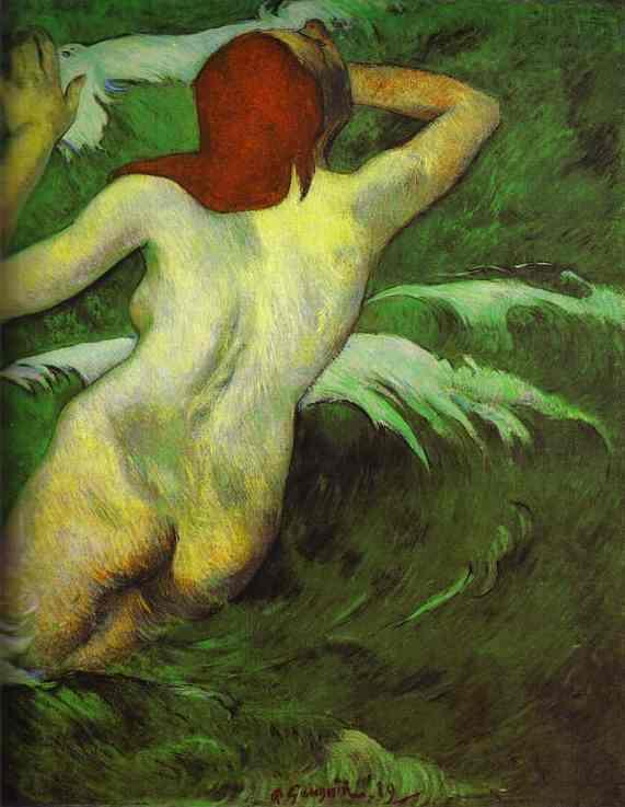 Обнажённая модель Поля Гогена. Изображение № 7.