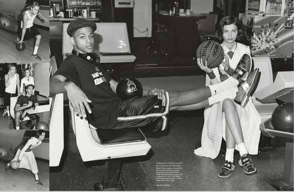 Съёмки: Harper's Bazaar, Interview, Vogue и другие. Изображение № 11.