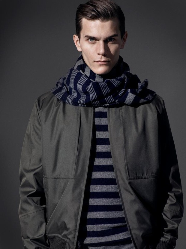 Alfred Dunhill lookbook casual wear Autumn Winter 2012. Изображение № 13.