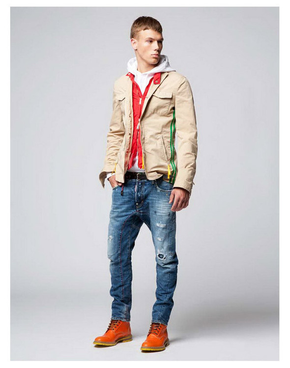 Dsquared2 Resort 2012 Lookbook. Изображение № 7.