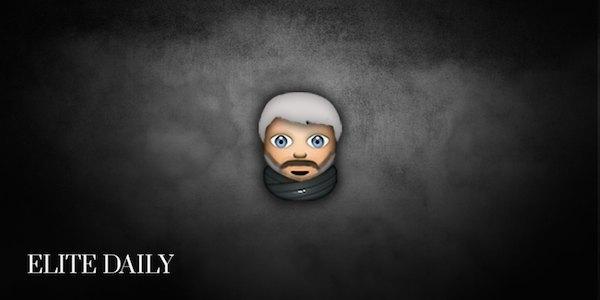 Персонажей «Игры престолов» переделали в Emoji. Изображение № 11.