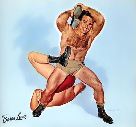 Wrestling Stars забавный ретро – календарь. Изображение № 3.