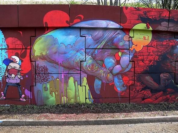 Стрит-арт в Париже. Изображение № 2.