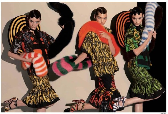 Вышло превью рекламной кампании Prada. Изображение № 5.