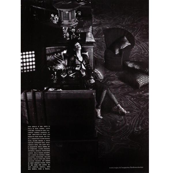 Изображение 9. The Blackallure: съемка с темнокожими моделями в итальянском Vogue.. Изображение № 9.