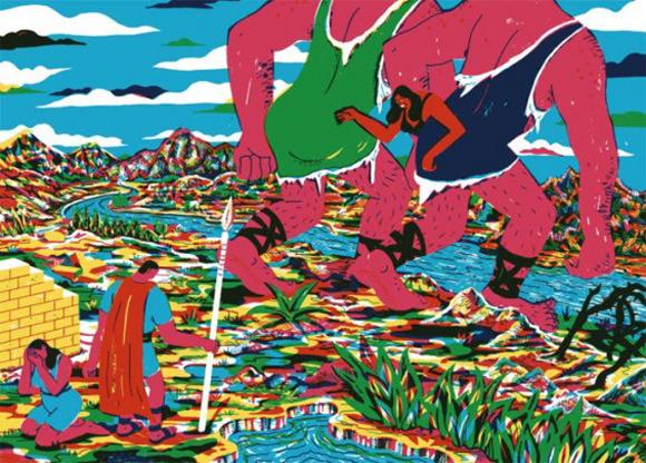 Босх 2.0: Иллюстрации-комиксы Брехта Ванденбрука. Изображение № 10.