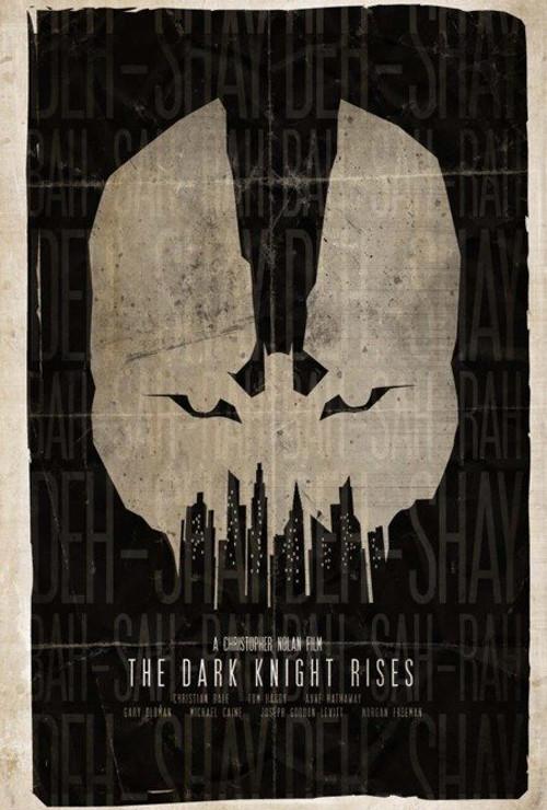 Фан-постеры «Темного рыцаря: Возрождение Легенды». Изображение № 1.