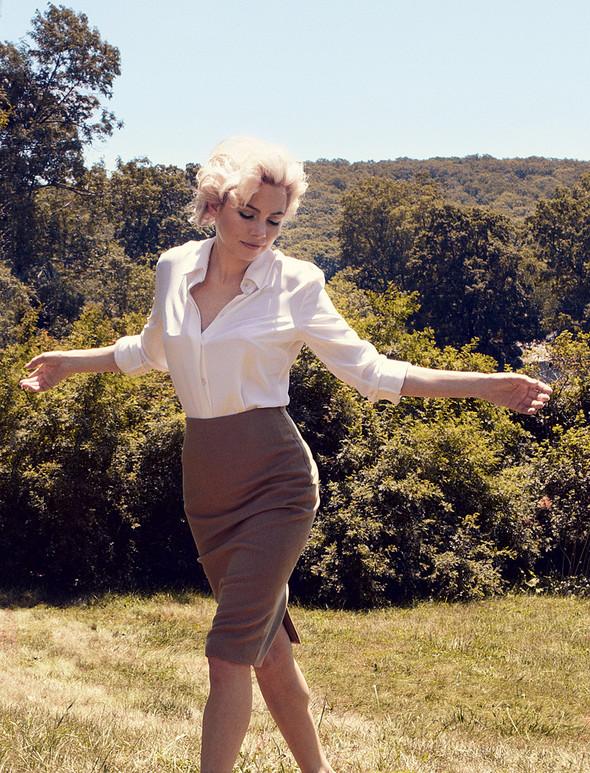 Съёмка: Мишель Уильямс для Vogue. Изображение № 7.