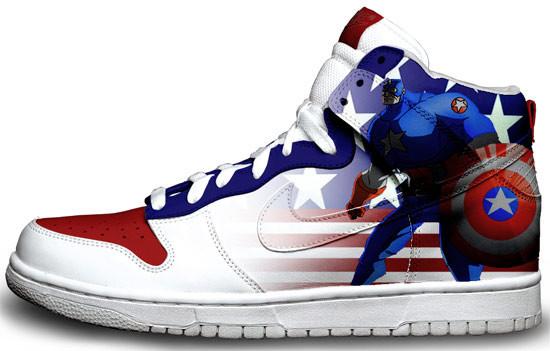 Метаморфозы белых кроссовок Nike. Изображение № 16.