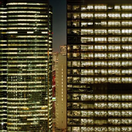 Мегаполисы ночью Гонконг, Дубаи, Нью-Йорк, Шанхай. Изображение № 21.