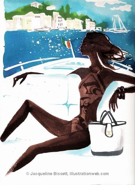 Иллюстратор Жаклин Биссет. Изображение № 1.