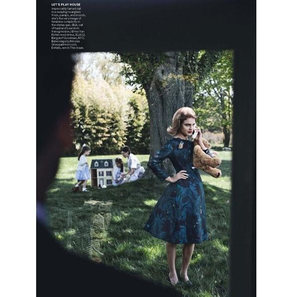 5 новых съемок: Amica, Elle, Harper's Bazaar, Vogue. Изображение № 32.