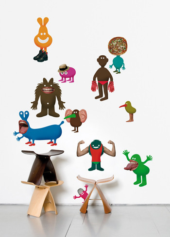 Виниловый мир от француского дизайнера Genevieve Gauckler. Изображение № 2.