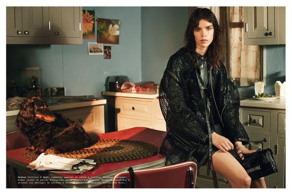 Стоп-кадр: Новые съемки Love, Russh, Vogue и V. Изображение № 58.