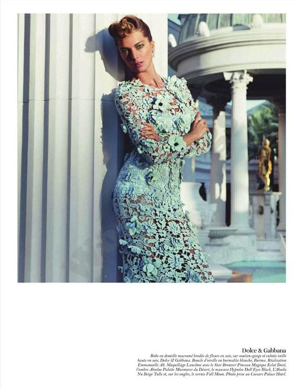 Съёмка: Дарья Вербова для французского Vogue. Изображение № 34.