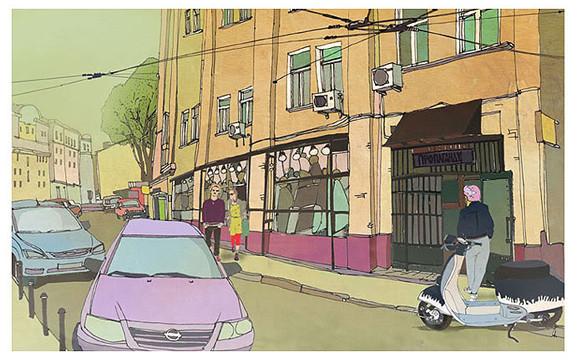 Городской художник Солнцев Глеб. Изображение № 3.