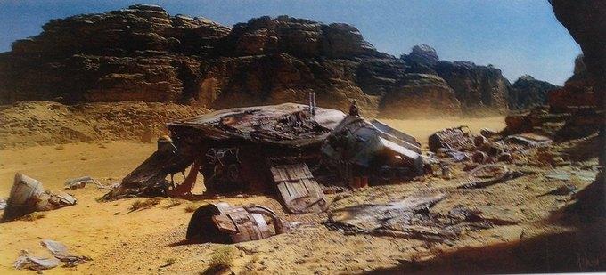 В Сеть выложили 32 концепт-арта для «Звёздных войн VII». Изображение № 17.