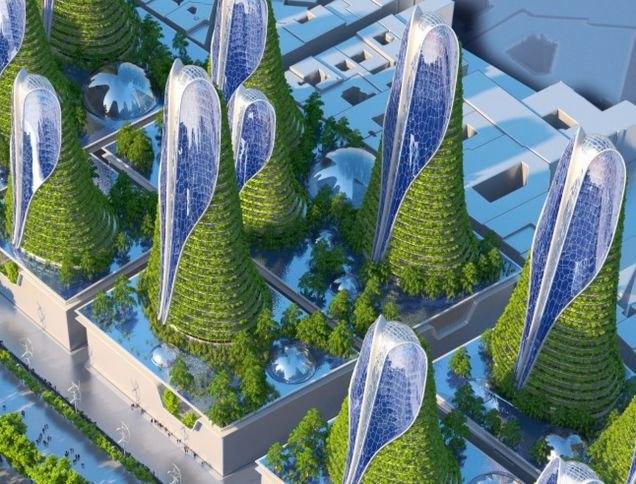 Концепт: экологически безопасный Париж. Изображение № 8.