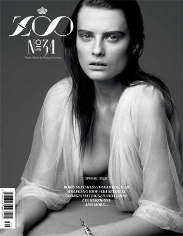 Обложки: Dazed & Confused, Zoo, Vogue и другие. Изображение № 10.