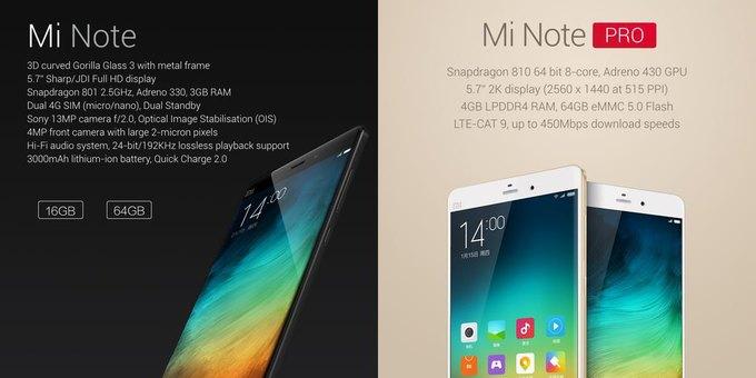 Xiaomi показала новый смартфон Mi Note. Изображение № 2.