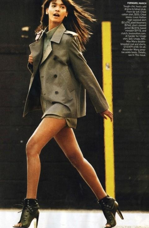 Изображение 12. Фотосессия в Vogue в стиле милитари.. Изображение № 12.