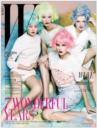 Обложки: Vogue, W и Pop. Изображение № 1.