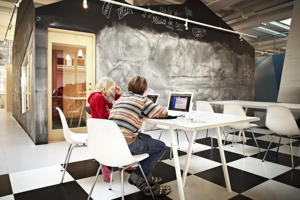 Экспериментальная школа в Стокгольме. Изображение № 9.
