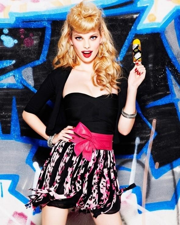 Изображение 5. Рекламная компания Bebe весна 2011.. Изображение № 5.