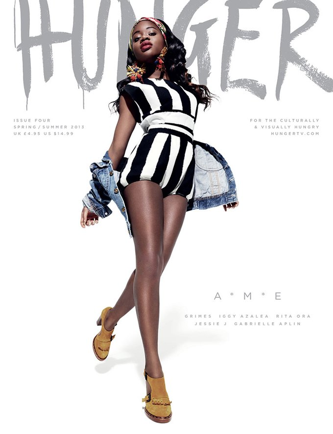 Показаны новые обложки Interview, T и Vogue. Изображение № 11.