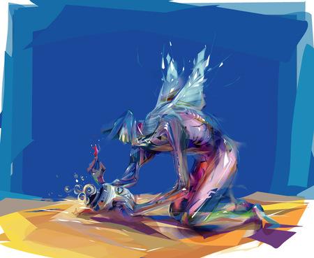 Limkis иеё живописный вектор. Изображение № 26.