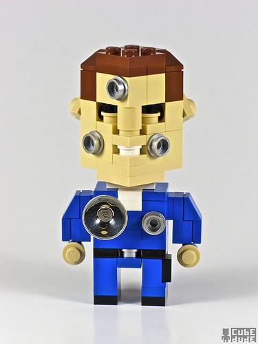 Изображение 4. Lego-герои CubeDude .. Изображение № 4.