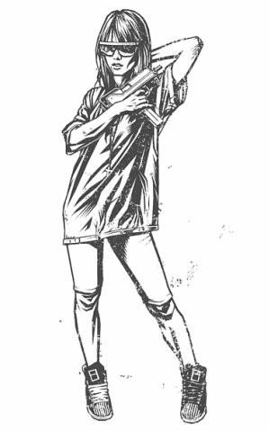 Девушки с оружием от Frank Barbara. Изображение № 28.