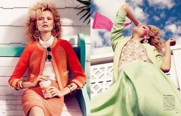 Магдoлена Фраковяк для Vogue Japan. Изображение № 4.