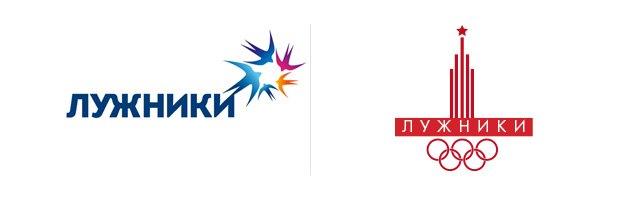 Редизайн новый логотип олимпийского