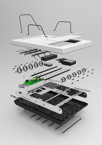 Разработан принтер, который не придется заряжать бумагой . Изображение № 4.