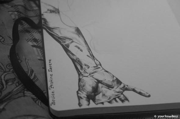 Я люблю черную ручку. Изображение №1.