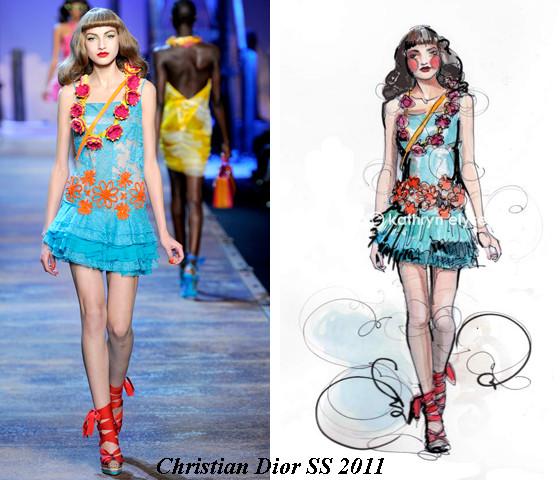 Kathryn Elyse. Fashion Illustrations. Изображение № 3.