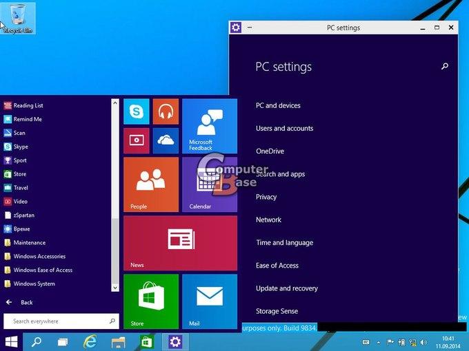В Сеть «утекли» два десятка скриншотов Windows 9. Изображение № 5.