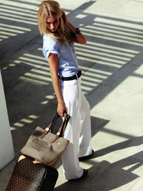 Лукбук: Поппи Делевинь для Louis Vuitton Summer 2012. Изображение № 9.