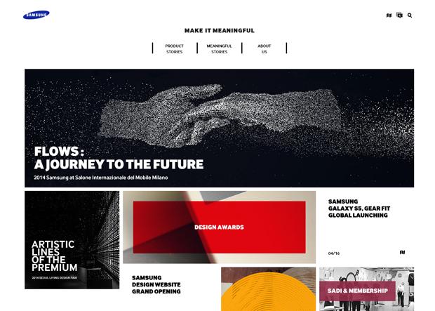 Компания Samsung запустила сайт о дизайне. Изображение № 1.