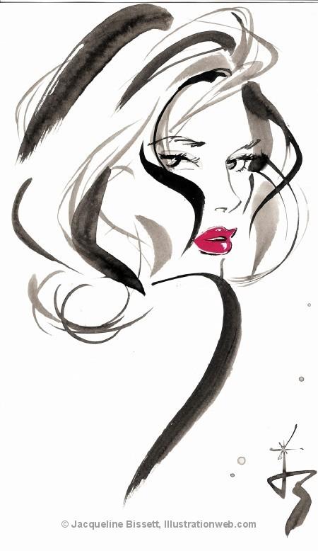 Иллюстратор Жаклин Биссет. Изображение № 41.