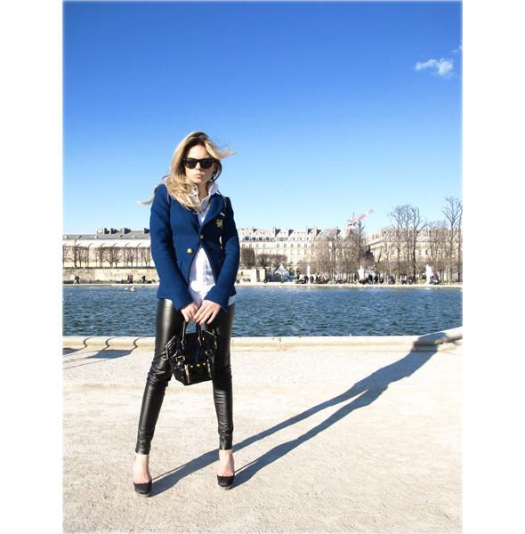 Луки с Недели моды в Париже. Изображение № 58.